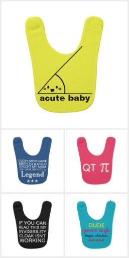 Funny Baby Bibs from http://www.zazzle.com/shabzdesigns #baby #bibs #funny