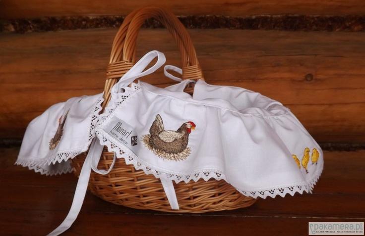 """Koszyk Wielkanocny """"Kura"""" by Monart"""