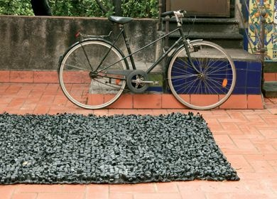 51 best bicycle inner tube reuses images on pinterest reuse bicycle inner tube rug fandeluxe Ebook collections