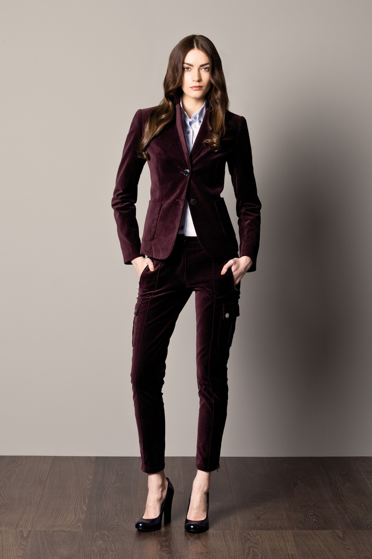 Burgundy Dress Pants Women