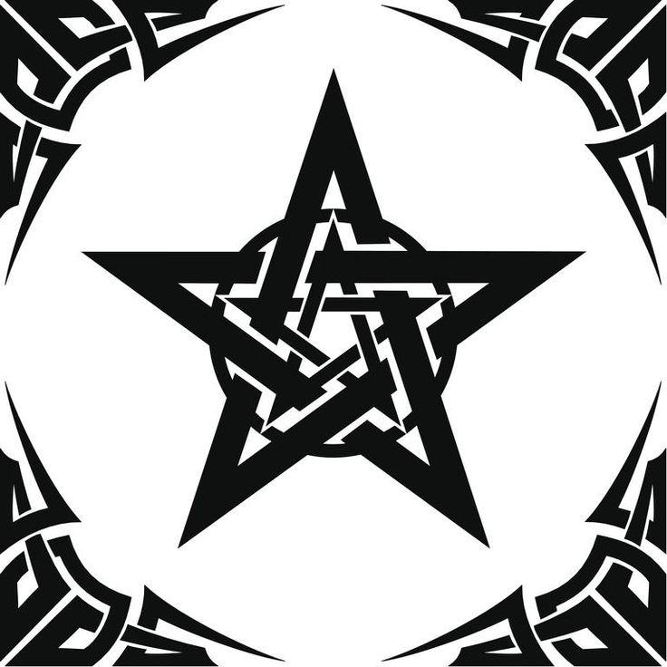 Resultado de imagen para tatuaje estrella 5 puntas