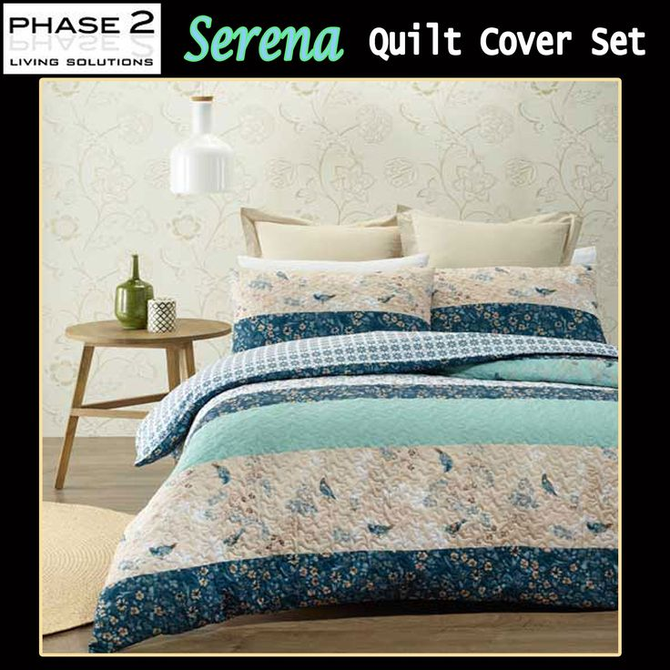 Serena Quilt Cover Set by Phase 2
