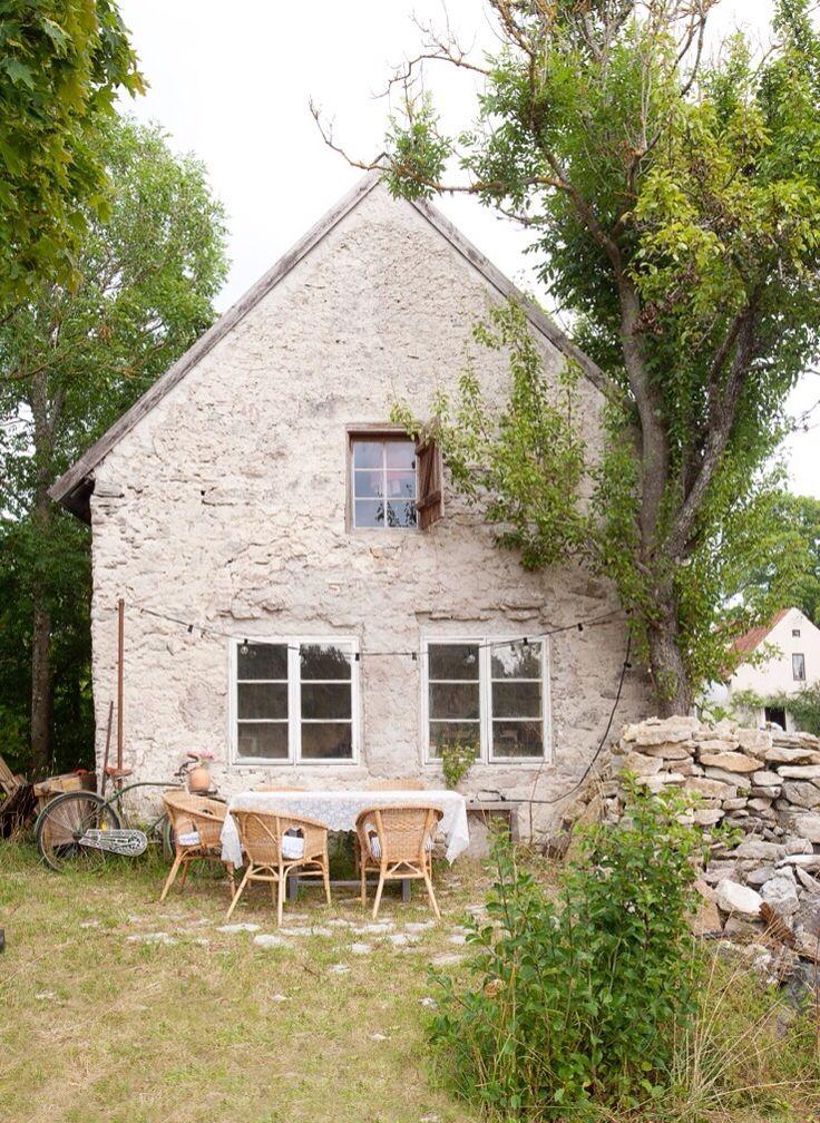 Une maison de vacances joliment rustique sur l'île de Gotland