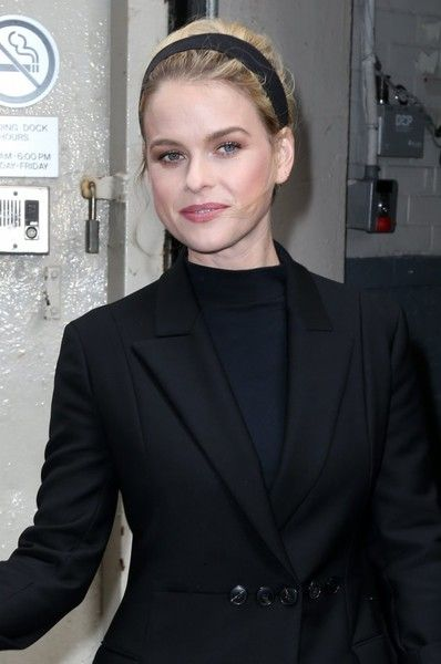 Alice Eve Photos Photos - Celebrities stop by at HuffPo Live in New York City, New York on April 11, 2016.<br /> Pictured: Alice Eve - Alice Eve at HuffPo Live in NYC