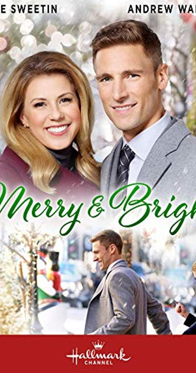Merry & Bright (2019). Cate's mom is setting up dates for her CEO daughter. When she meets Gabe ...