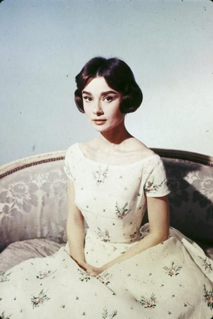 The elegant Audrey Hepburn