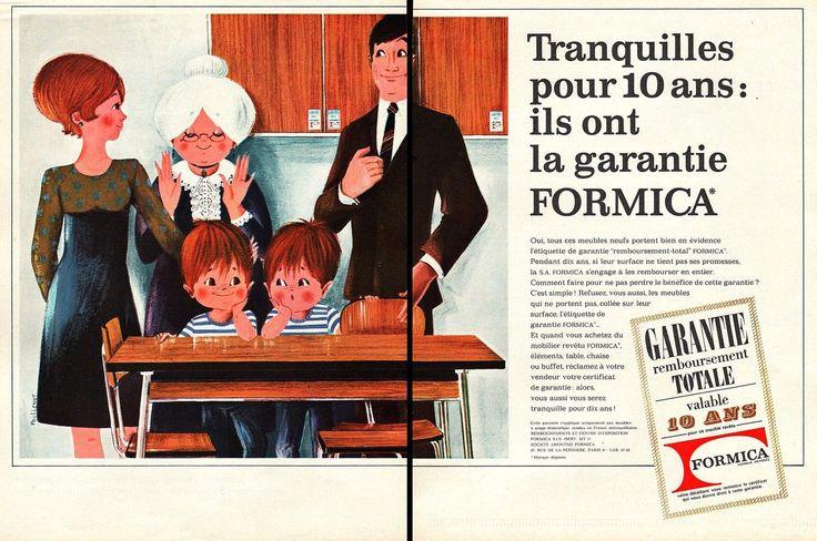 Publicite Formica Design Cuisine Annees 60 AD 1960 | eBay