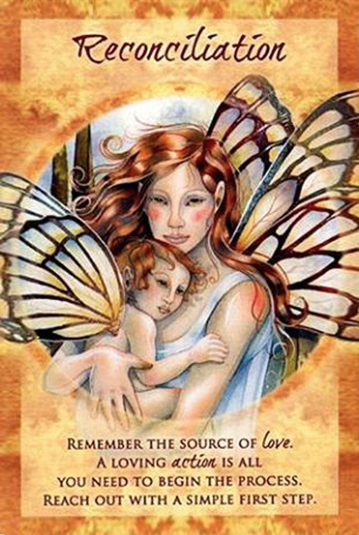 """Reconciliation"" Magical Times Empowerment Cards par Jody Bergsma"