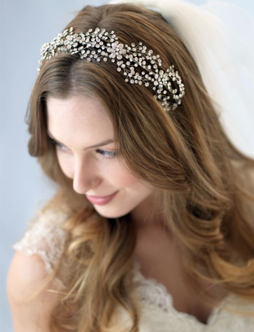 Affordable Elegance Bridal - Couture Antique Silver Plated Floral rhinestone Headband, $114.98 (http://www.affordableelegancebridal.com/couture-antique-silver-plated-floral-rhinestone-headband/)