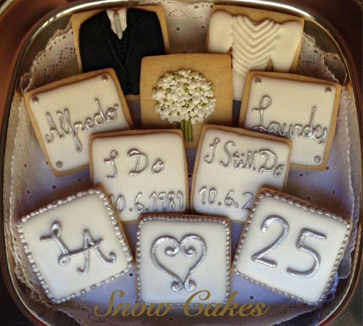 17 mejores ideas sobre pasteles de bodas de plata en - Ideas bodas de plata ...