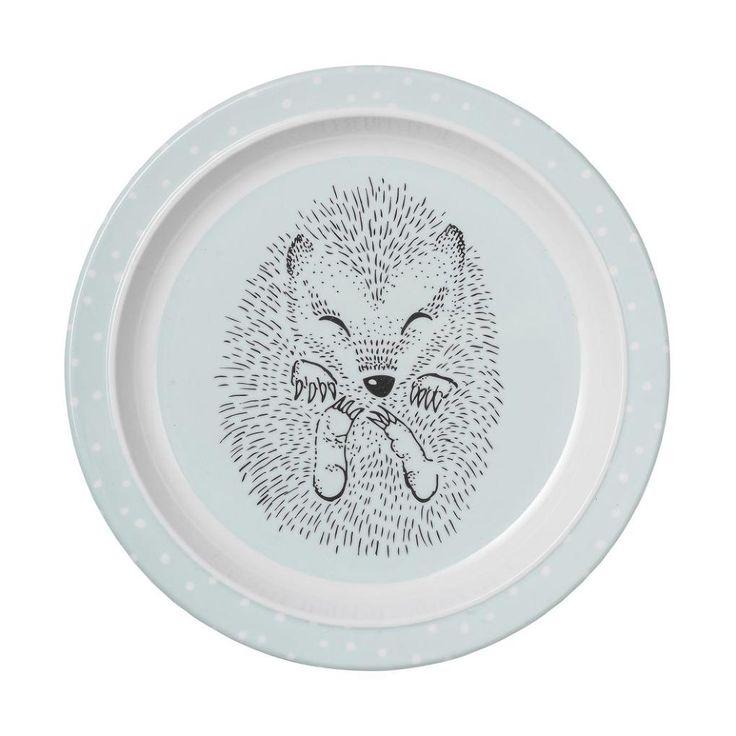 Melaminový talířek pro děti Hedgehog