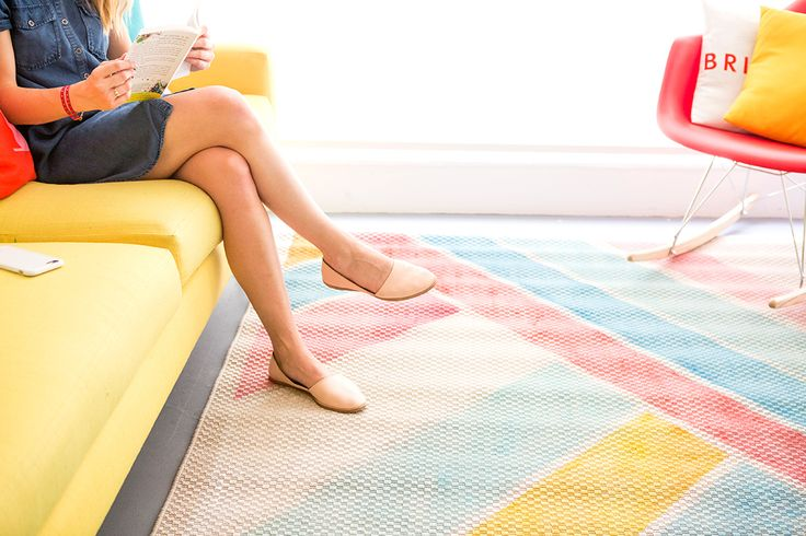 You Can Make a $598 Anthro Rug for Just $80 via Brit + Co