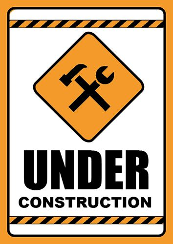 Poster Creator software with Under Construction sign template - http://www.ronyasoft.com/products/poster-forge/templates/informational-signs/under-construction-sign-template/