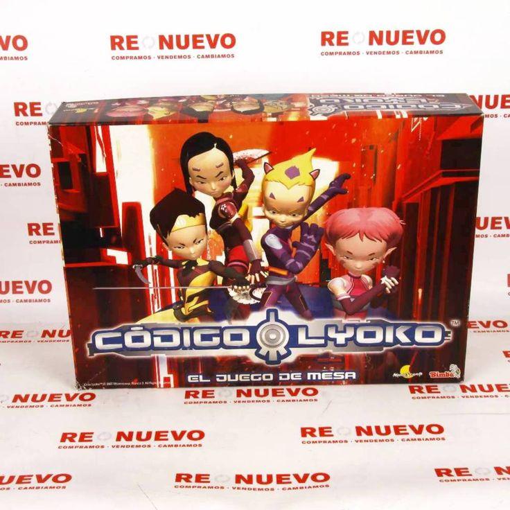 #Juego de mesa #CODIGO #LYOKO E270635 de segunda mano | Tienda online de segunda mano en Barcelona Re-Nuevo #segundamano