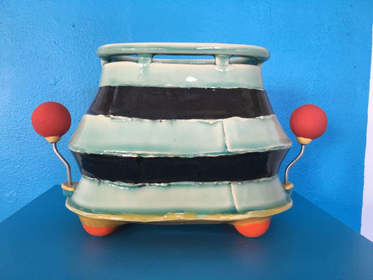Chris Pickett; Low Vase