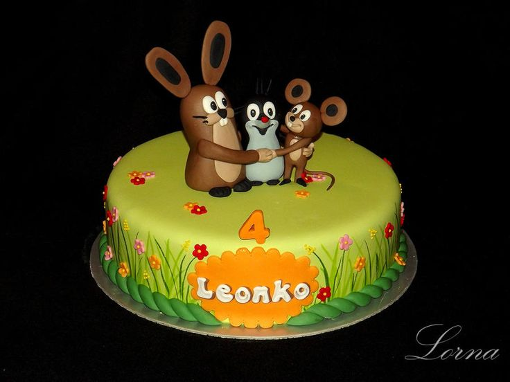 Little Mole & Friends.. - Cake by Lorna