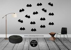 Bats!!  LOVE!!!    www.urbansignature.co.nz