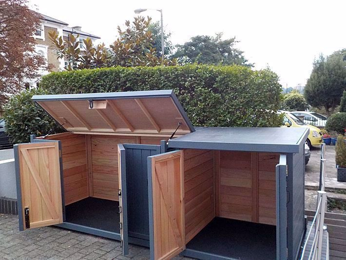 Our Favorite Garden Equipment Storage Box Only On Gardenserver Com Balcony Garden Balcony Garden Apartme In 2020 Diy Storage Shed Outdoor Bike Storage Garden Storage