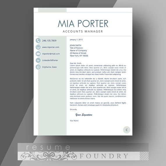 79 best Free Resume Templates For Word images on Pinterest Free - template for resume microsoft word