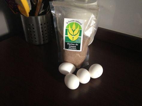 Tortillas de linaza (panqueque) – Recetas Método Grez