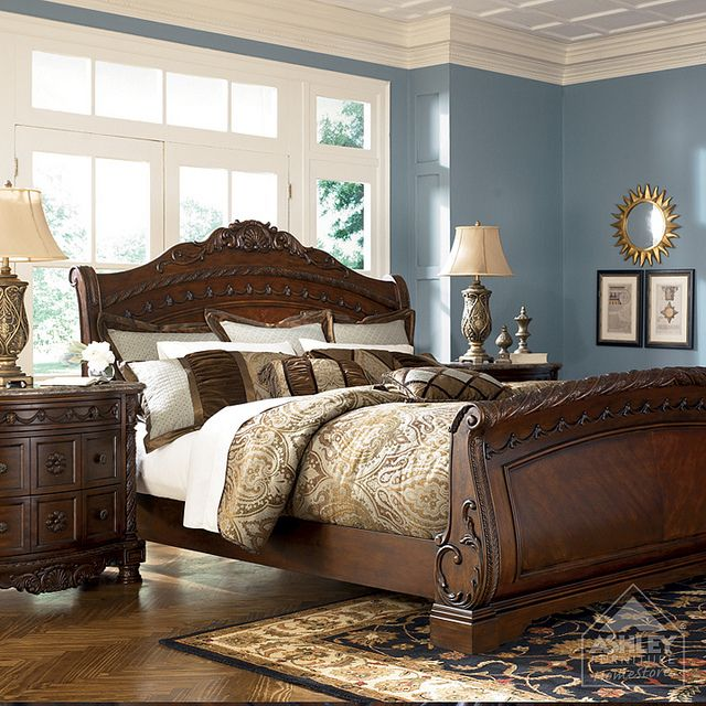Ashley Furniture Homestore North Shore Sleigh Headboard
