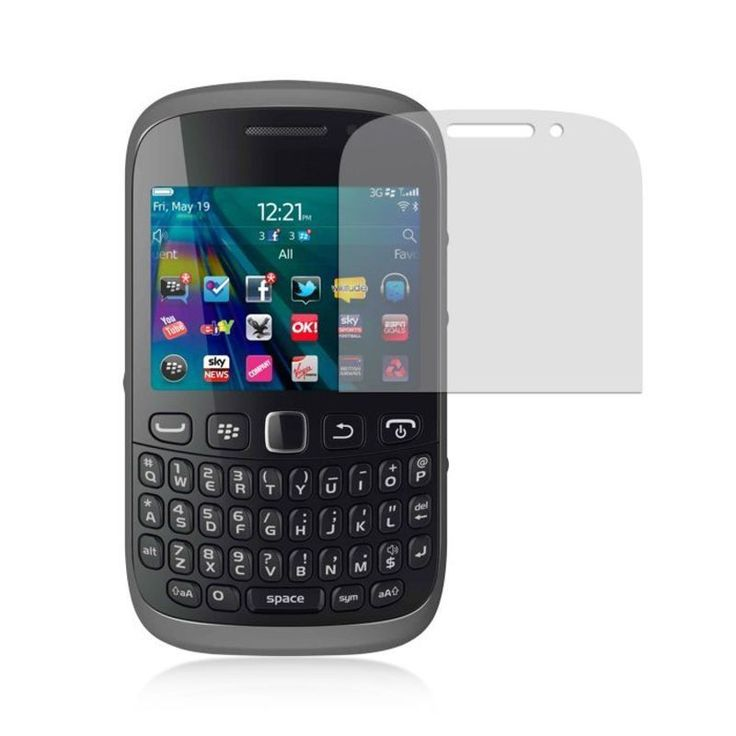 Insten Clear LCD Screen Protector Film Cover For BlackBerry Curve 9320 #2313690
