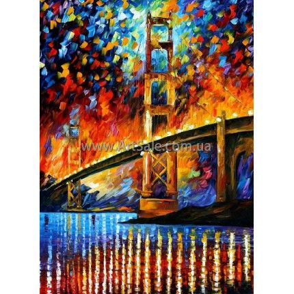 Бруклинский Мост Маслом