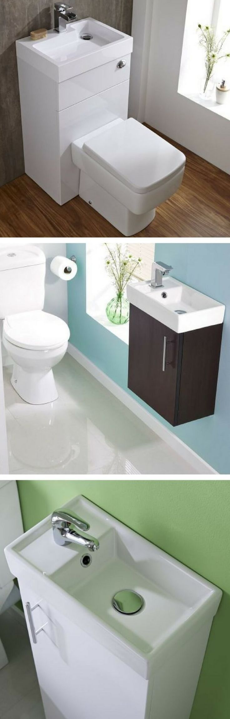 Why a cloakroom basin is essential for a small bathroom makeover. Cloakroom basins & vanity units are perfect for small bathroom makeovers. With so many styles of sink available, only the space is limited not your options.