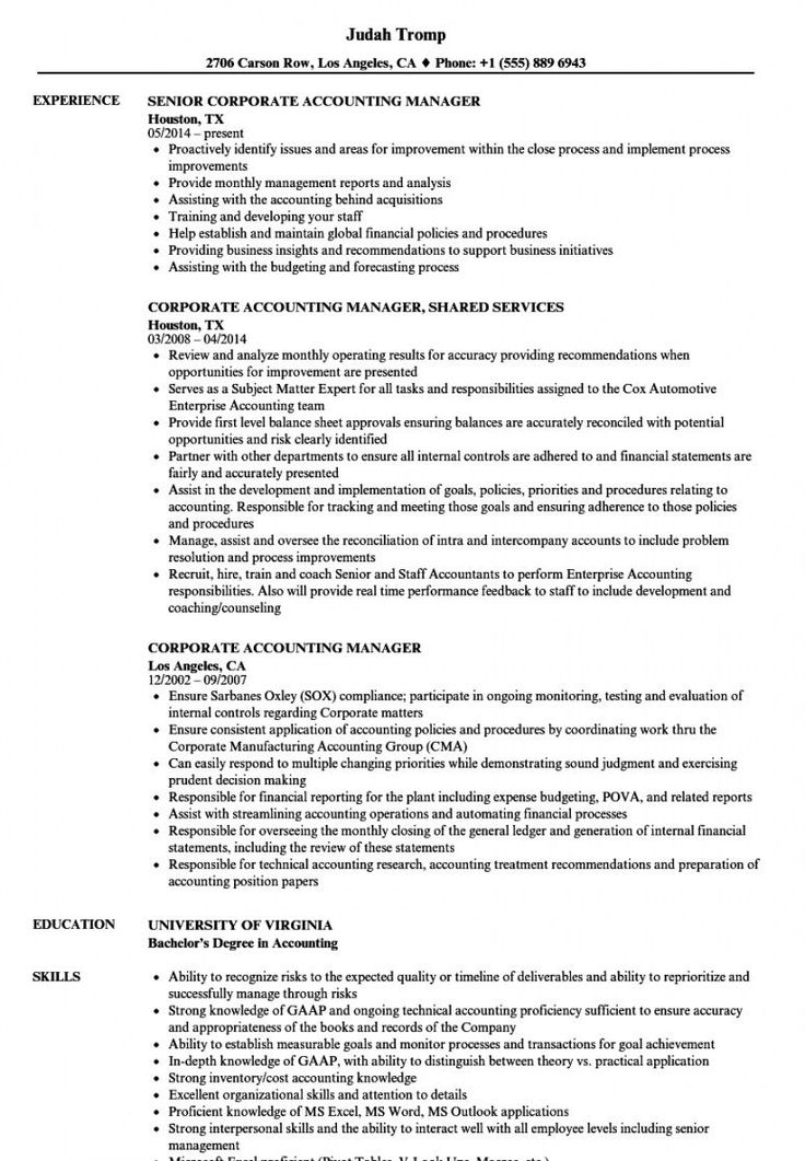 Explore our image of accounting manager job description