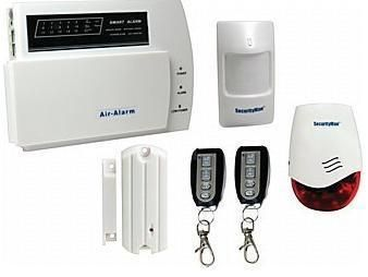 macally AIR-ALARM1 Do-It-Yourself Wireless Home Alarm System Kit