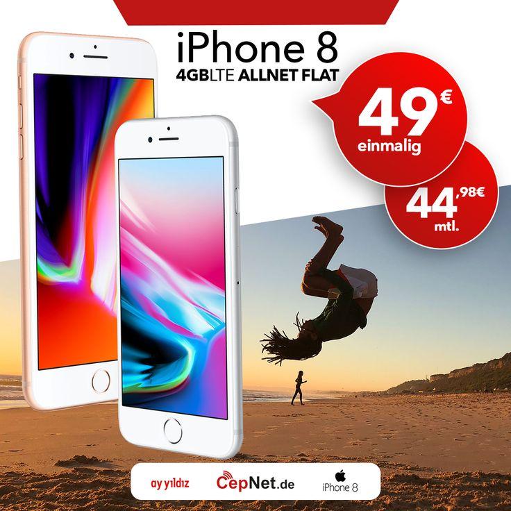 😍😎 Sind Sie bereit, mit iPhone 8 traumhafte Fotos zu schießen?  🔥🔥🔥 Apple iPhone 8 64GB mit günstigem ay yildiz Ay Allnet Plus + Ay Allnet Vertrag  👉👉  https://www.cepnet.de/smartphones/apple/iphone-8/?utm_source=sosyal_diger&utm_campaign=cepnet_tutus_sosyal 👈👈    ✅ Telefonie-Flat* in alle dt. Handy-Netze  ✅ Telefonie-Flat* ins dt. Festnetz  ✅ Telefonie-Flat* ins türkische Festnetz  ✅ Internet-Flat* 3 GB mit bis zu 21,6 Mbit/s (danach   ✅ Drosselung auf 56 kbit/s)  ✅ EU Roaming…