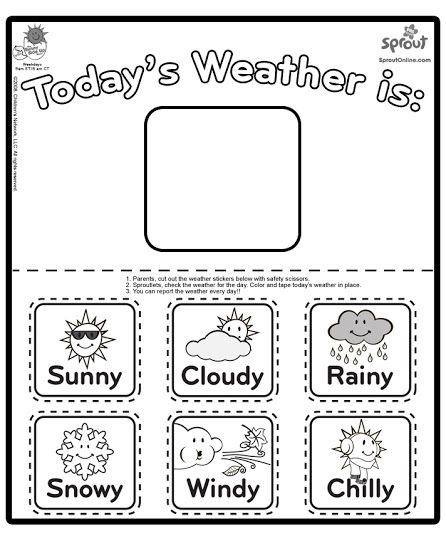 Letter D Poems for Kindergarten   Worksheets  Find the Letter W  Whether  the Weather Kathmandu Living Labs