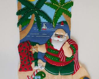 Final media de la Navidad - Tropical Santa
