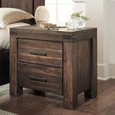 Found it at Wayfair - Meadow 2 Drawer Nightstand