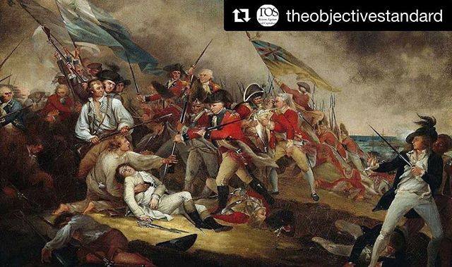 #Repost @theobjectivestandard with @get_repost  On this day in 1775 an immense crowd gathered at the Old South Meeting House in Boston Massachusetts to hear a speech by one of the most powerful proponents of the American revolutionary cause. Dozens of British soldiers watched the scene menacinglyone even displayed bullets in his palm as a warning to the speaker. Unperturbed Dr. Joseph Warren encapsulated the arguments for American independence telling the crowd of thousands On you depend the…