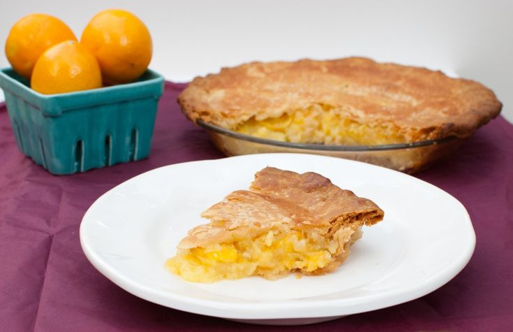 Shaker Meyer Lemon Pie - from my friend's terrific blog: www.baked-in ...