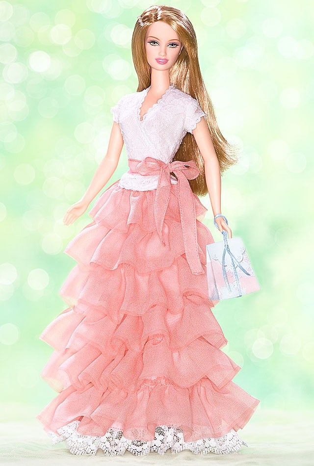 Birthday Wishes Barbie Doll 2005
