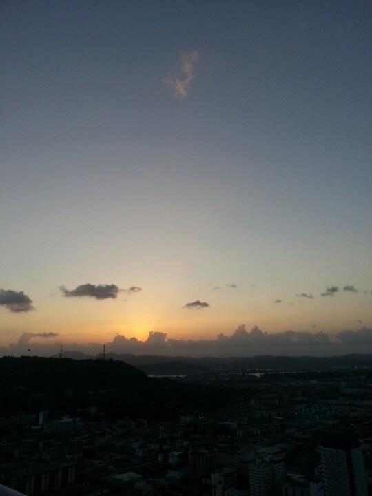Sunset  01/19/13