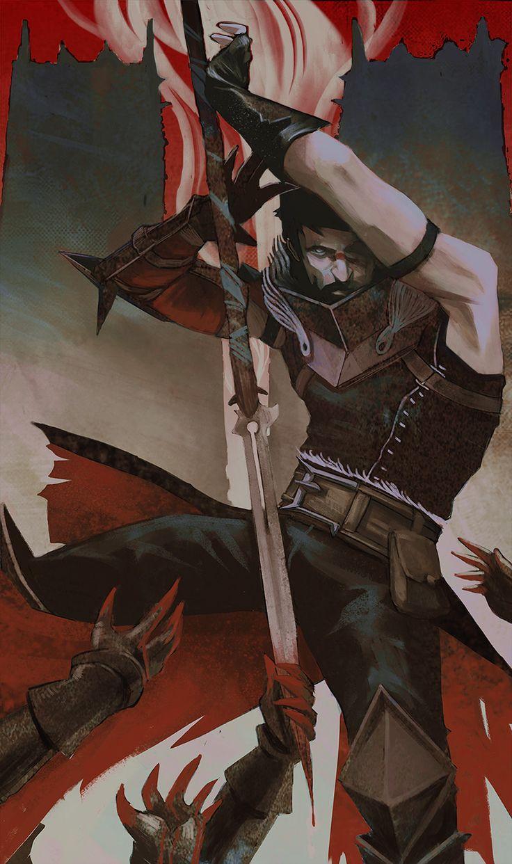 Garrett Hawke. Dragon Age II