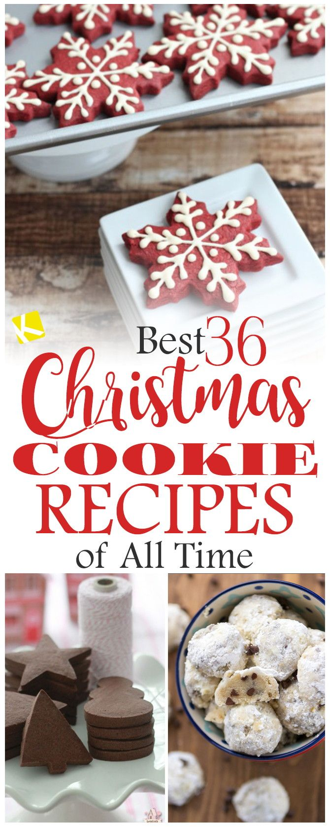 Best 36 Christmas Cookie Recipes of All Time