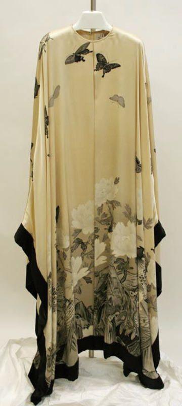 Hanae Mori evening dress ca. 1983 via The Costume Institute of the Metropolitan Museum of Art