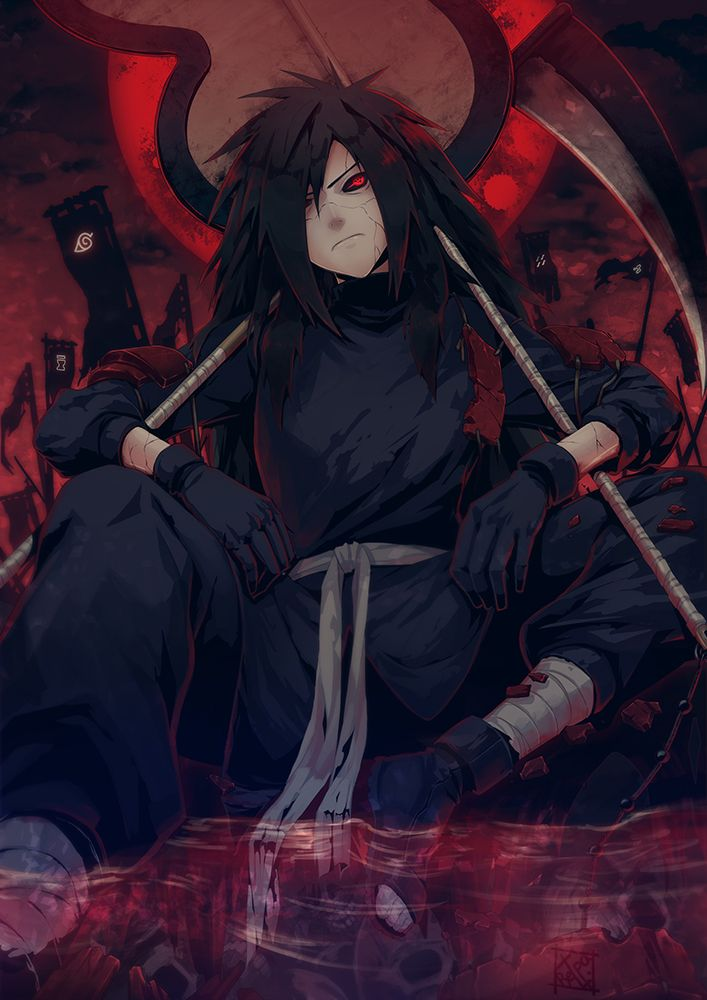 Anime,аниме,Uchiha Madara,Учиха Мадара,Naruto,Наруто, Naruto Shippuuden,Anime без Няш
