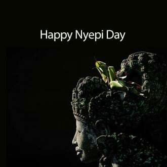 We wish you a happy and peaceful silence day. Selamat Hari Raya Nyepi Caka 1937 #bali #Nyepi2015