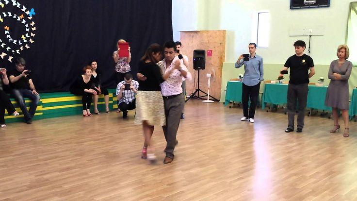Sebastián Achaval and Roxana Suarez - Giros 2/2, argentine tango lesson ...