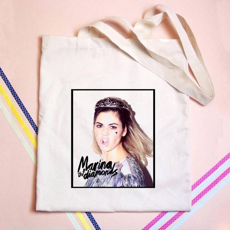Marina and The Diamonds Tote bag - GOGOLFNW.COM