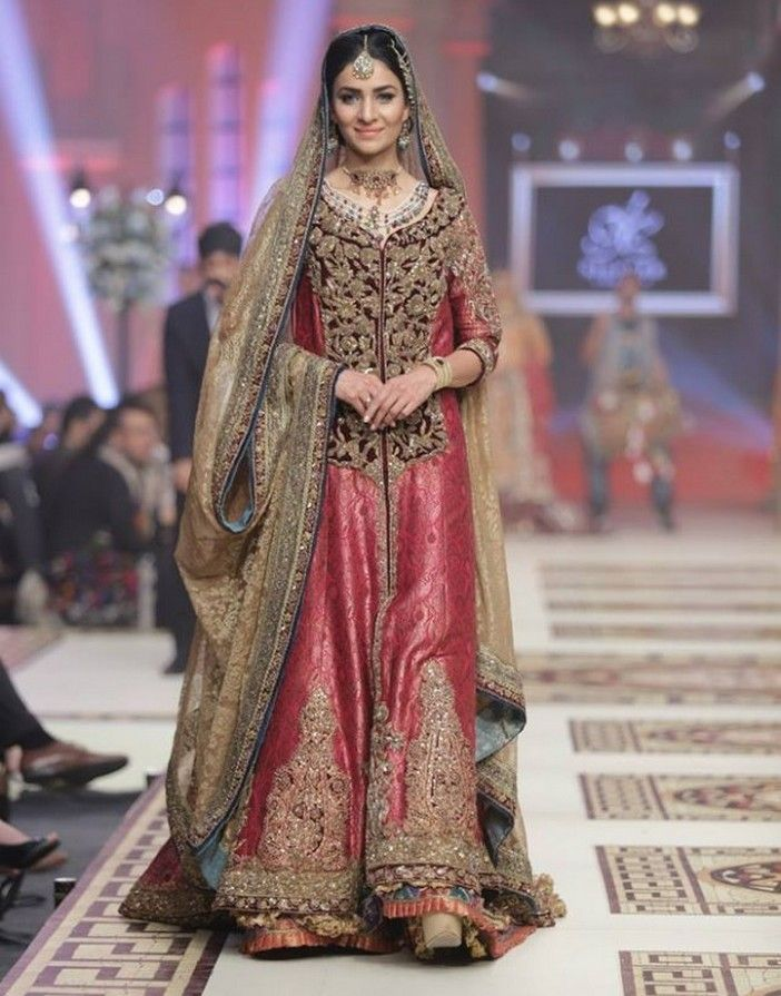 173 best images about dresses for women on pinterest for Indian muslim wedding dress