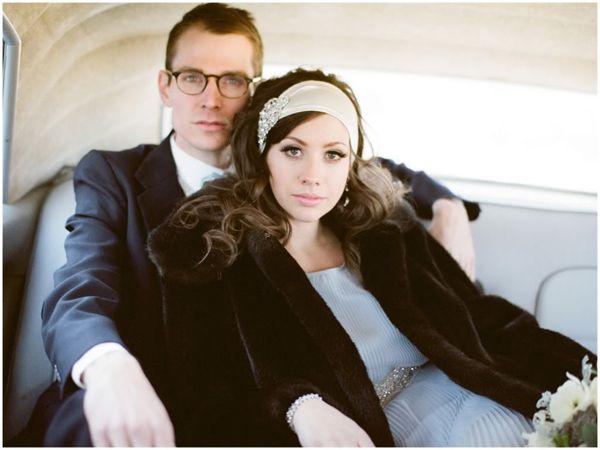 Eine Hochzeit im Stil der 20er Jahre | Friedatheres