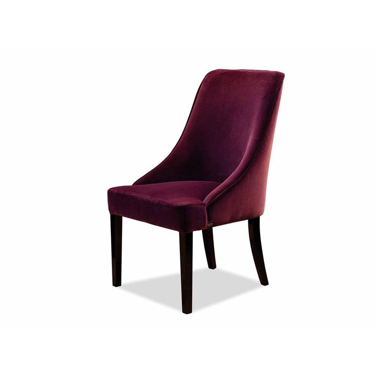 Dom Edizioni Chair Grace fabric Dinner chair with not removable cover
