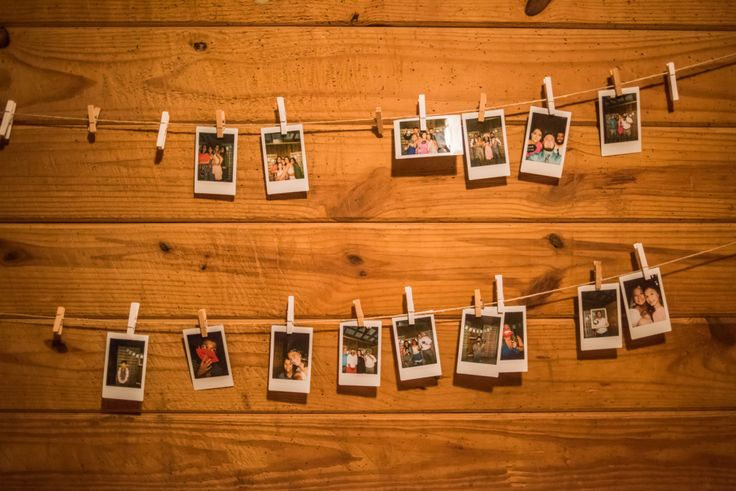 Wedding Photo Booth Polaroids
