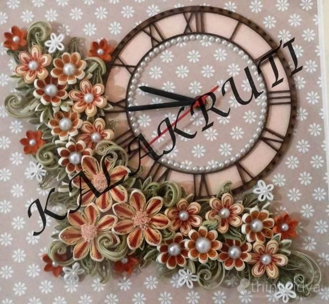 344 best images about Quilling Clocks on Pinterest